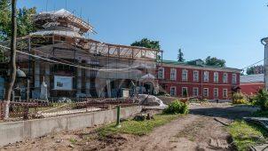 Церковь Михаила Архангела, 1806-1809 гг. (усыпальница Голицыных), ансамбль Донского монастыря