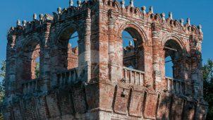 Башня № 7 — квадратная на восточной стене, ансамбль Донского монастыря