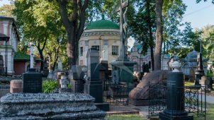 Церковь Александра Свирского, 1796-1798 гг. (усыпальница Дубовых), ансамбль Донского монастыря