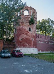 Башня № 8 — круглая угловая юго-восточная, ансамбль Донского монастыря