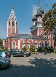Церковь Ризоположения на Донской, 1701-1716 гг., ансамбль церкви Ризоположения