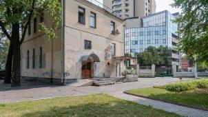 Часовня, комплекс зданий Медведниковской богадельни на Большой Калужской