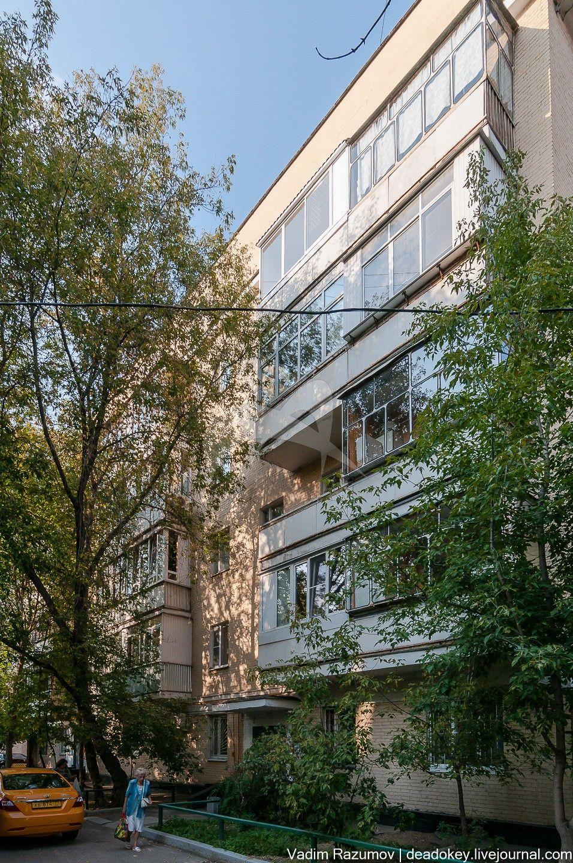 Жилой дом, 1928 г., жилой массив, арх. Травин Н.Н., Блохин Б.Н. и др.