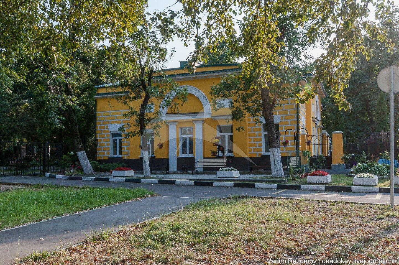 Южный боковой флигель, ансамбль Даниловского монастыря, 1832 г., арх. Ф.М. Шестаков
