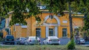 Северный боковой флигель, ансамбль Даниловского кладбища