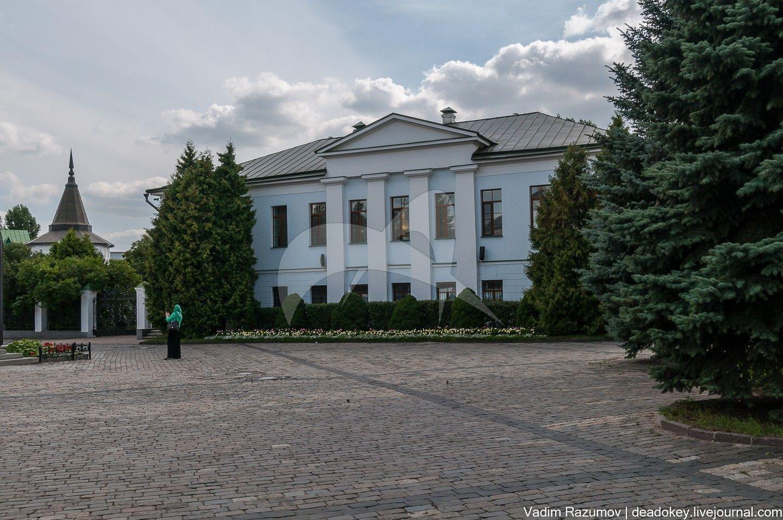Дом настоятеля, XVII-XVIII вв., ансамбль Даниловского монастыря