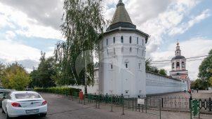Башня северо-восточная, Даниловский монастырь, крепостные башни, XVII в.