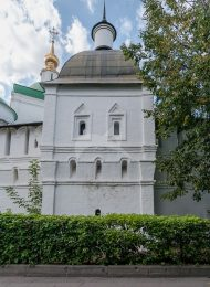 Башня квадратная на восточной стене, Даниловский монастырь, крепостные башни, XVII в.