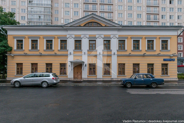 Главный корпус, 1803-1804 гг., арх. Ф.К. Соколов, Мытный двор