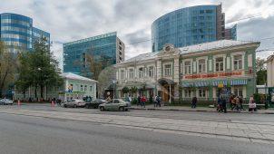 Ворота, комплекс зданий Товарищества кожевенных и суконных фабрик «Алексея Бахрушина и сыновья»