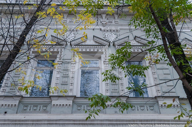 Жилой дом, 1853 г., арх. Н.П. Краснов, городская усадьба Скворцовых