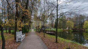 Парк с прудом, усадьба Голохвостовых, XVIII в.