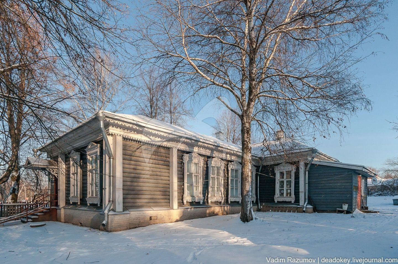 Сельская школа, построенная А.П.Чеховым