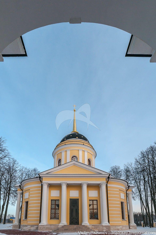 Церковь, 1795-1796 гг., арх. Бабакин, ансамбль церкви Рождества Богородицы