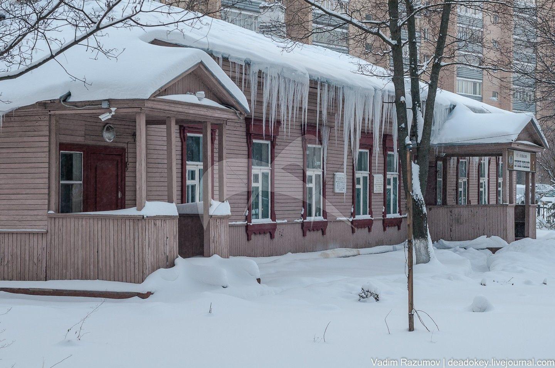 Почтовая станция, 1896 г. Здесь в 1896-1899 гг. неоднократно бывал Чехов А.П.