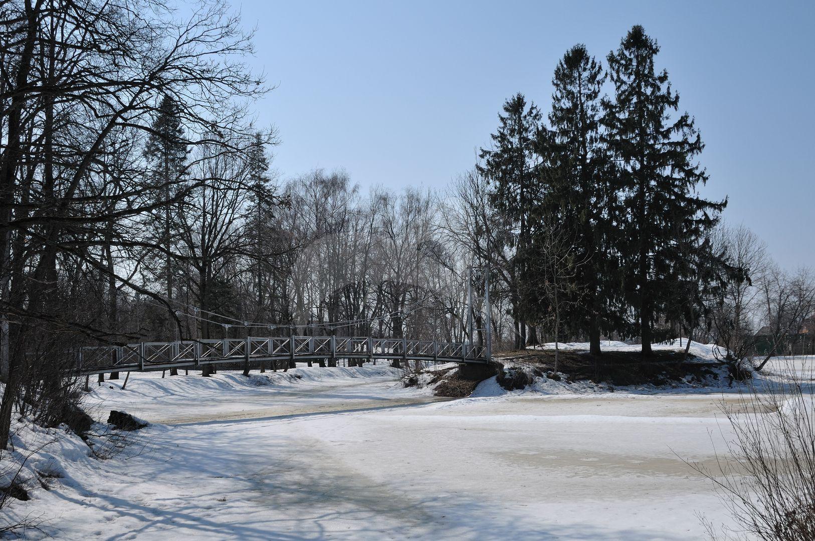 Парк с прудом, усадьба Олсуфьева, 1830 г.