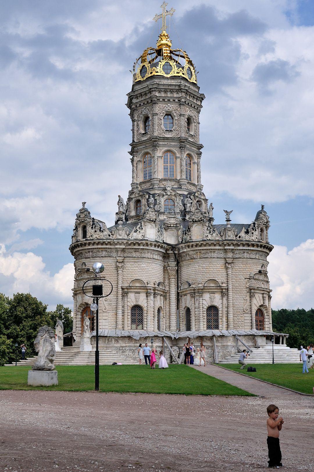 Церковь Знамения, 1690-1704 гг., усадьба Дубровицы, ХVIII в.