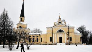 Церковь Введения, 1812г., усадьба Введенское (Шереметева-Гудовича)