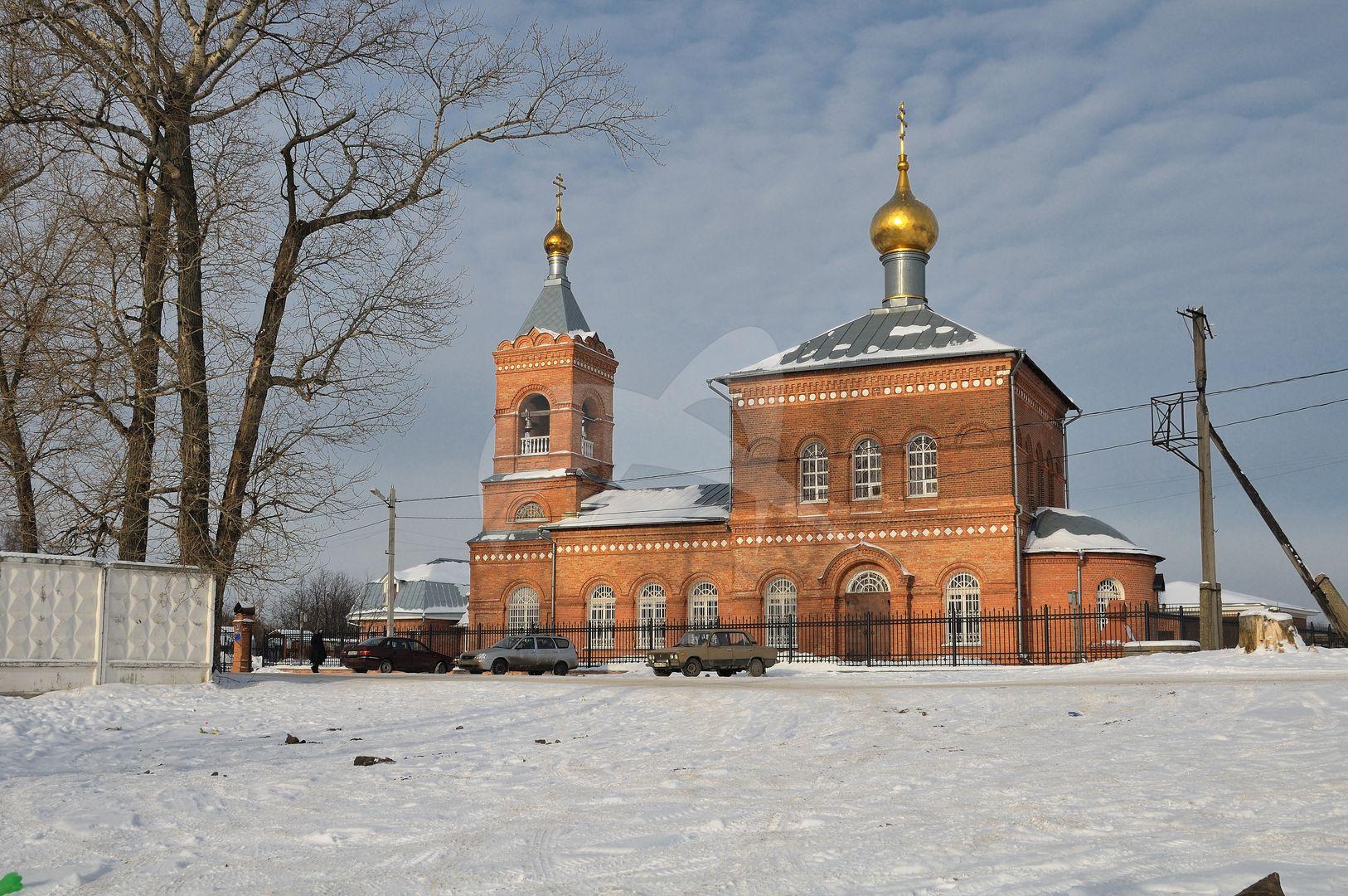 Церковь Николая Чудотворца, 1902 г., усадьба «Милет»