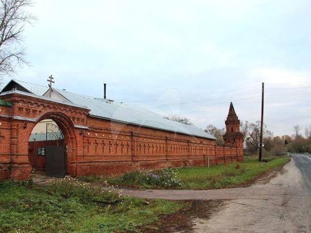 Ограда с воротами и башнями, конец XIX в., Монастырь Казанский