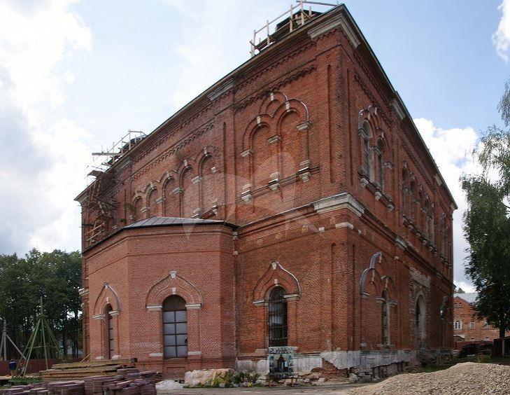 Церковь Преображения Господня с келейным корпусом, 1897-1903 гг., Монастырь Казанский