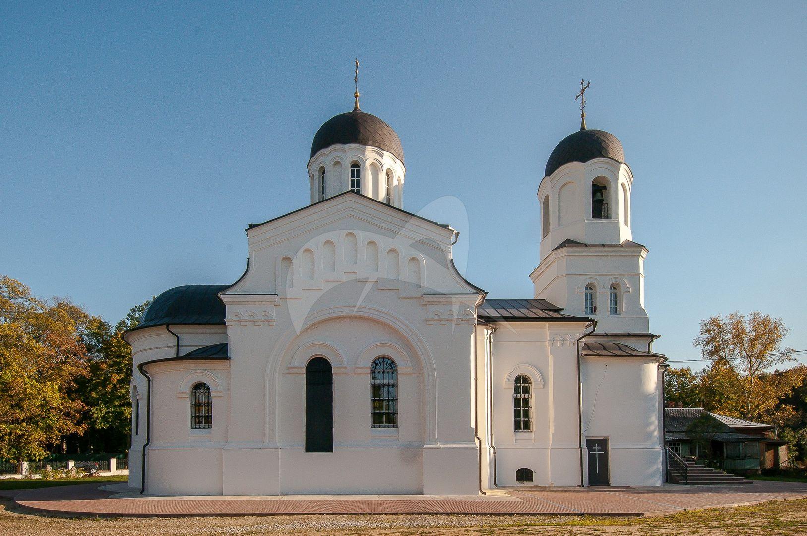 Церковь Казанской иконы Божией Матери, 1902-1905 гг., усадьба «Ламишино»