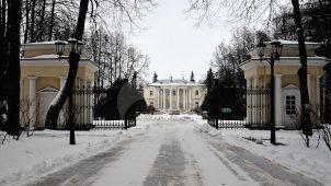 Въездные ворота-павильоны, ХVIII в., усадьба Введенское (Шереметева-Гудовича)