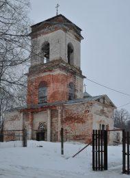 Церковь Животворящего Креста (Воскресения), 1748 г., 1-я половина ХIХ в., усадьба «Марьинка»