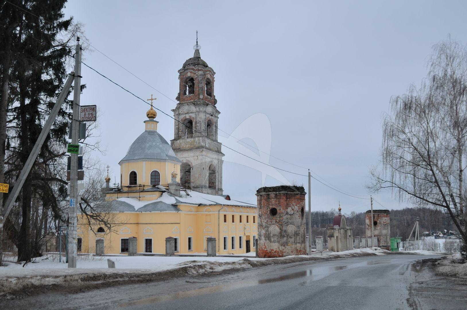 Ограда с воротами, комплекс сооружений, конец XVI- XIX вв.