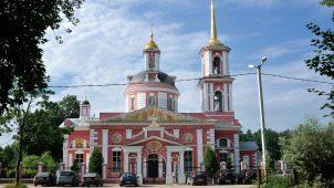 Церковь Сергиевская, усадьба Алмазово, ХIХ в.