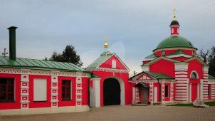 Церковь Дмитрия Ростовского, 1824 г., Аносин-Борисоглебский монастырь