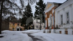 Служебный корпус, усадьба Воробьевых, XIX в.