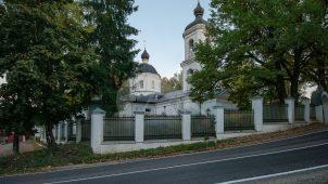 Церковь Покрова, 1745 г., усадьба Голохвостовых