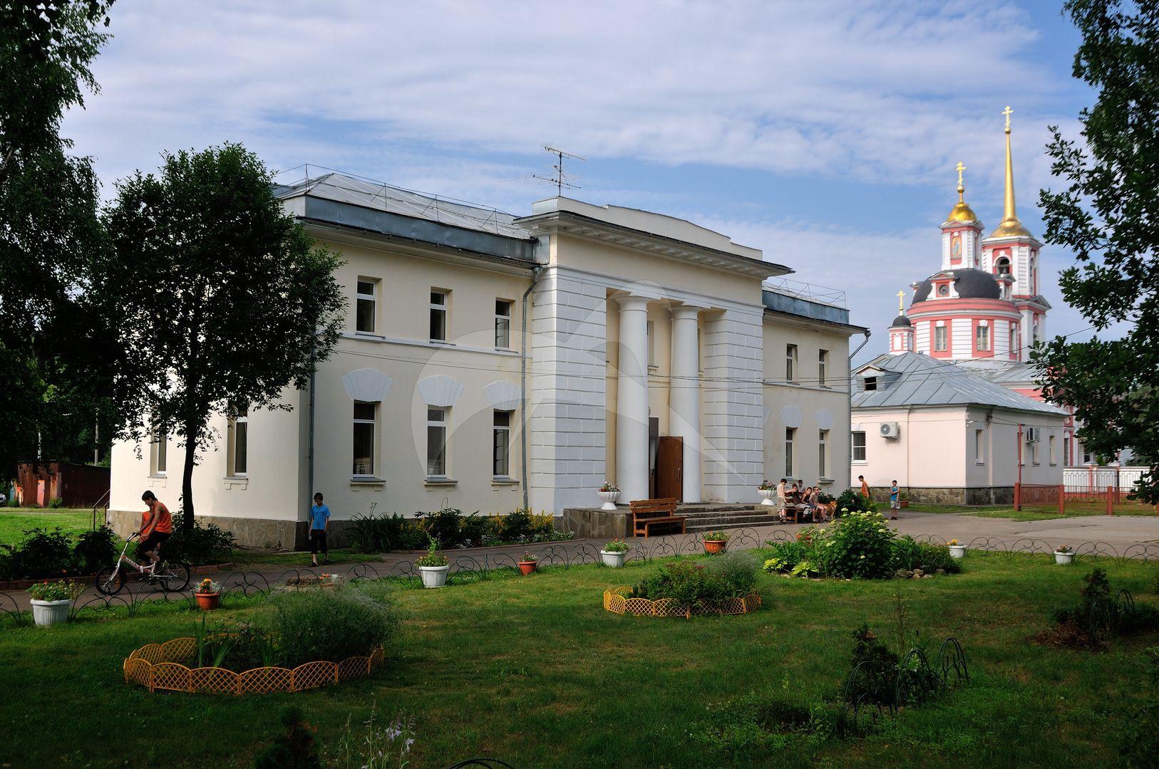 Западный флигель, усадьба Алмазово, ХIХ в.