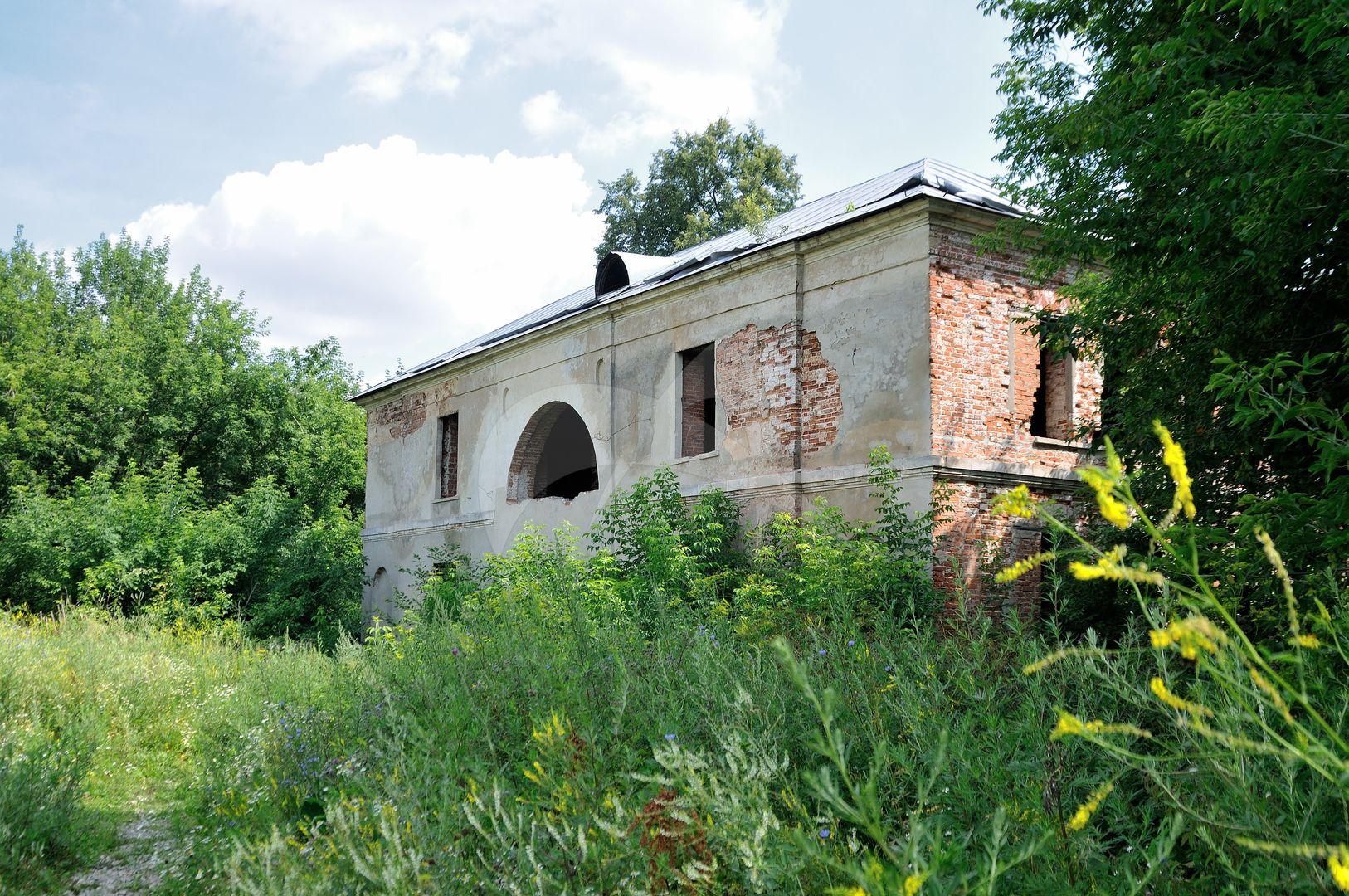 Дом двухэтажный, XIX в., усадьба Ивановское
