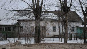 Каменные «образцовые» избы, построенные Н.И. Новиковым для крестьян, усадьба «Авдотьино»