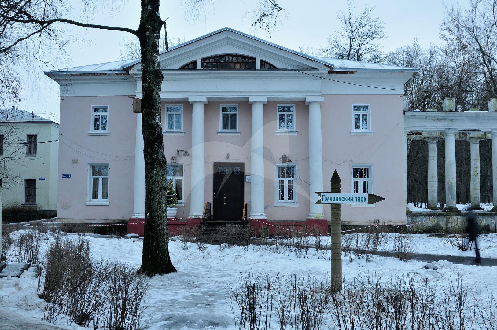Восточный флигель, арх. Ф.П. Казие, усадьба Пехра-Яковлевская, 1770-1785 гг.