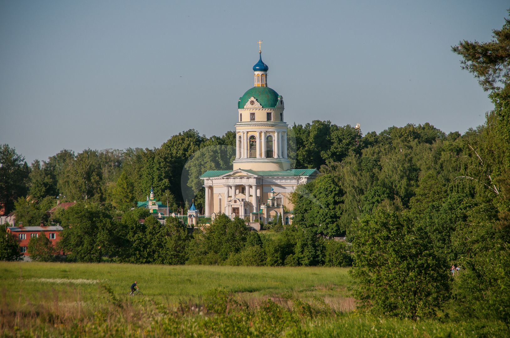 Церковь Николая Чудотворца, 1823 г., усадьба Гребнево, ХVIII-ХIХ вв.