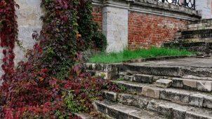 Терраса — подпорная стена, Ансамбль усадьбы Марфино