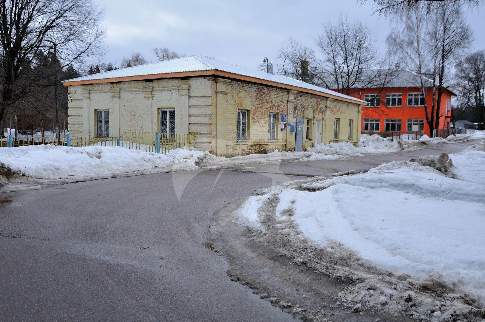 Конюшня, усадьба Воробьевых, XIX в.
