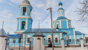 Успенская церковь, 1756 г., усадьба «Успенское» («Пороховой завод»)