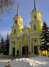 Церковь Троицы, 1777 г., усадьба Троицкое-Кайнарджи, ХVIII-ХIХ вв.
