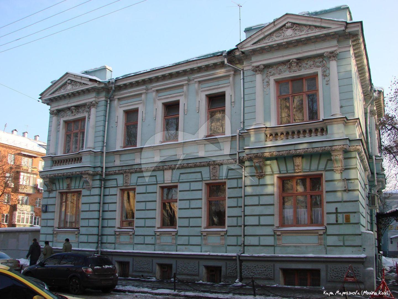 Особняк С.К. Морозова, 1901 г., архитектор Н.Д. Бутусов