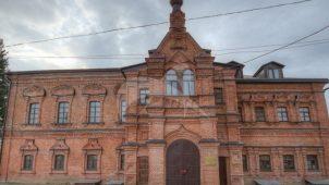 Трапезная с церковью Воскресения Христова, 1901 г., Спасо-Преображенский Гуслицкий монастырь