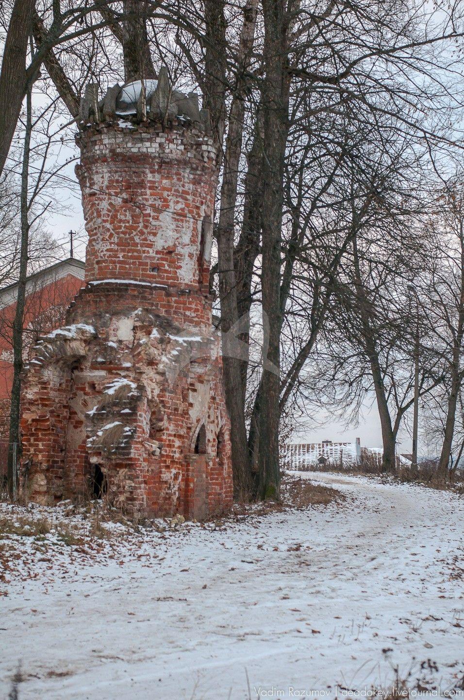 Башня, усадьба Апраксиных, ХVIII в.