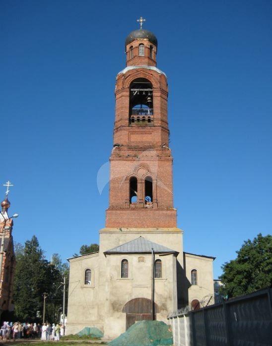 Надвратная колокольня, 1901г., Спасо-Преображенский Гуслицкий монастырь