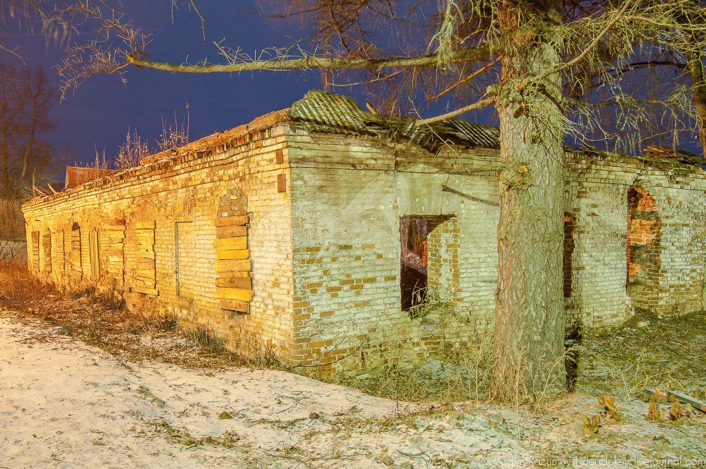 Сельскохозяйственная постройка, усадьба Обольянинова, ХVIII в.