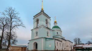 Церковь Введения, 1751г., Усадьба Апраксиных, ХVIII в.