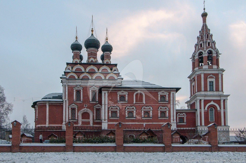 Церковь Казанская, 1675 г.