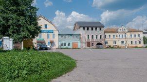 Площадь торговая, XVI-XIX вв.